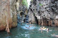 canyon rando fun casela nature and leisure park mauritius