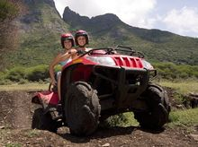 quad tour casela nature and laisure park mauritius