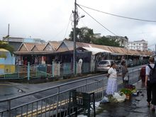 Markt in Rose Hill - Stadt in Mauritius